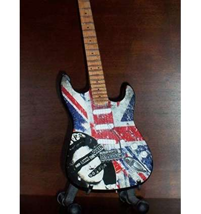 Guitarra Miniatura SEX PISTOLS - God Save