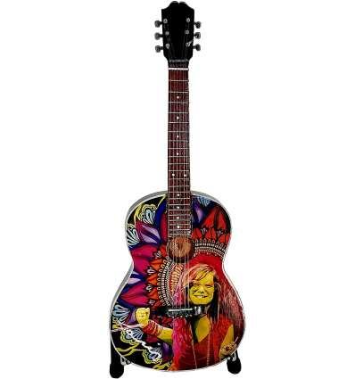 Guitarra Miniatura JANIS JOPLIN - Tributo