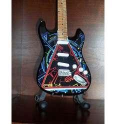 Guitarra Miniatura DEF LEPPARD