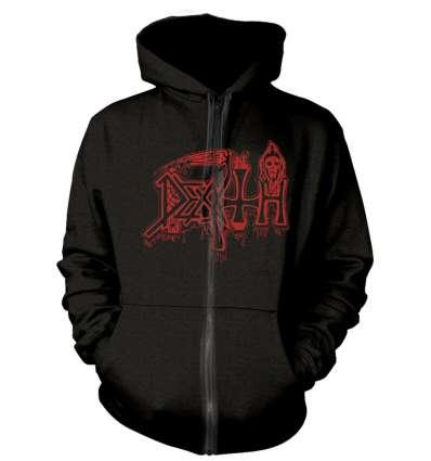 Sudadera DEATH - Scream Bloody Gore Cremallera