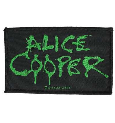 Parche ALICE COOPER - Logo Verde