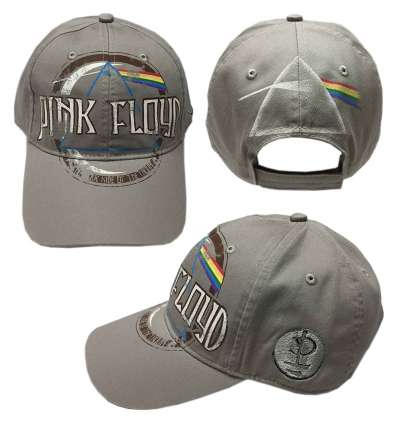 Gorra PINK FLOYD - Dark Side Of The Moon Gris