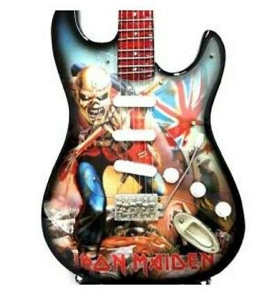 Guitarra Miniatura IRON MAIDEN - The Trooper Tribute