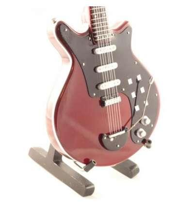 Guitarra Miniatura Brian May - Queen Special Red